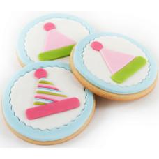 Cutie Cupcake Cutter Set - Birthday